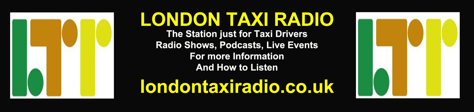 London Taxi Radio Banner