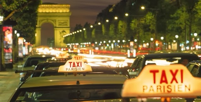 French Cabbies Show What A United Taxi Trade Can Do….by Jim Thomas.